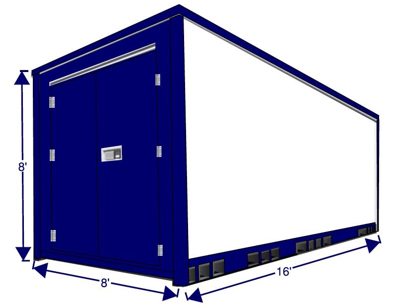 12 foot storage box