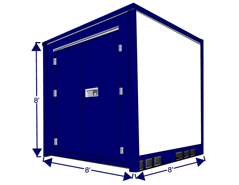 8 foot storage box